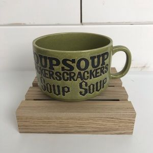 Vintage Soup & Crackers Bowl